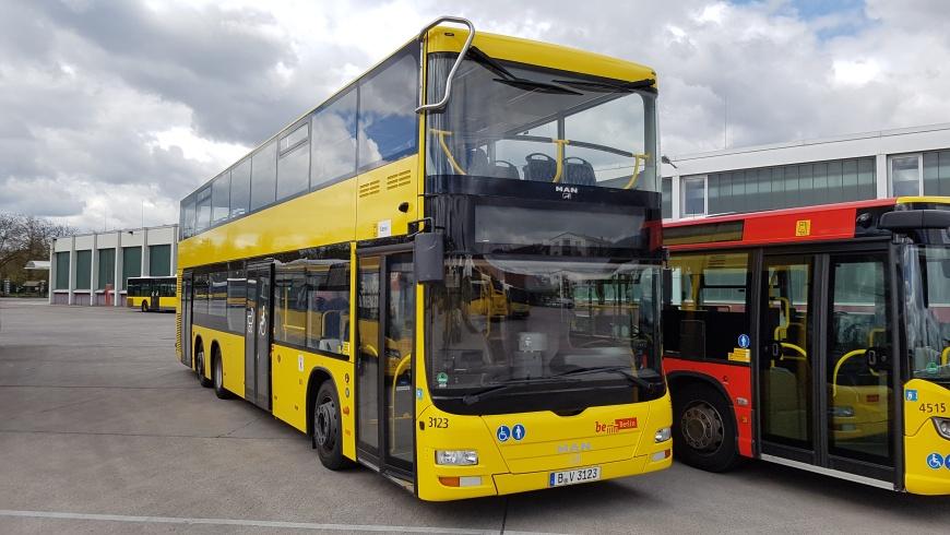 BVG-Doppeldecker-Bus Typ MAN A39