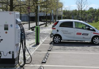 eMobility-Station am Bahnhof Südkreuz