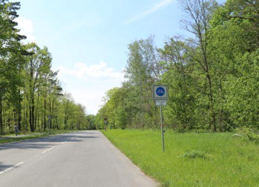 Fahrradstraße Teufelsseechausse