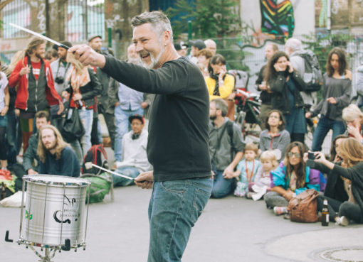 Strassenmusik, Pirates of Percussion, 2015