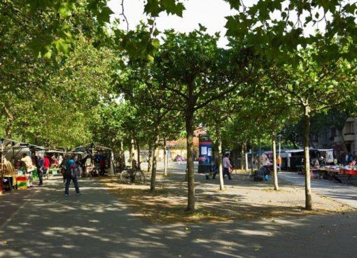 Mierendorffplatz - Wochenmarkt