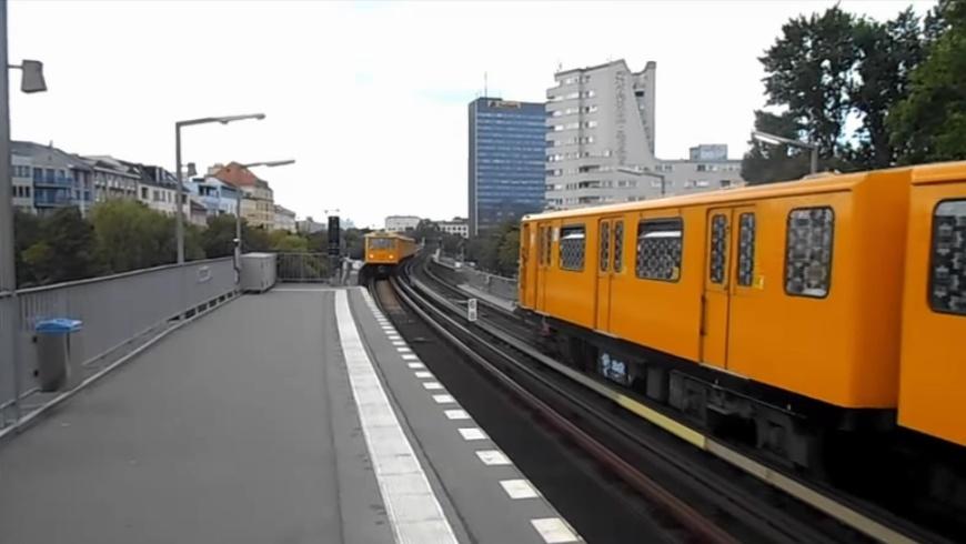 U1 Bahnhof Hallesches Tor