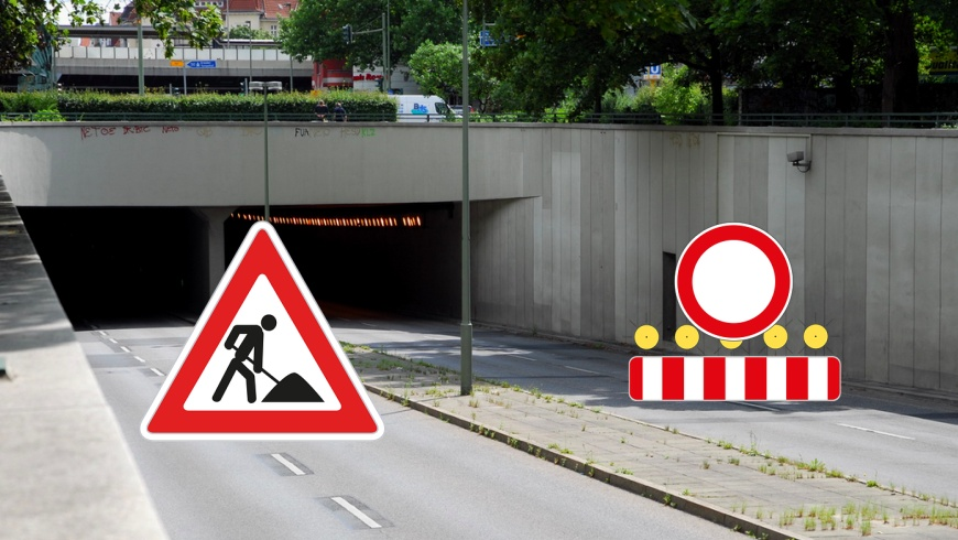 Tunnel unter dem Bundesplatz