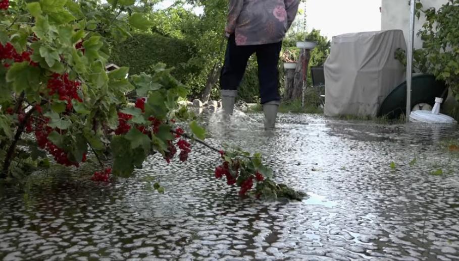 Immer noch Hochwasser in Tegel