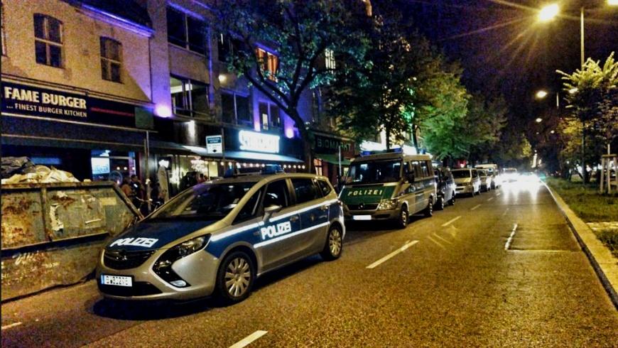 Polizeieinsatz 29./30.7.2017