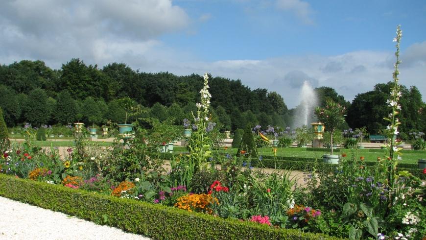 Blütenpracht im Schlossgarten Charlottenburg