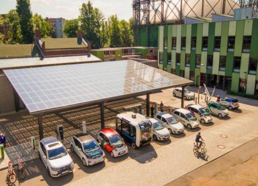 Solarport auf dem EUREF-Campus