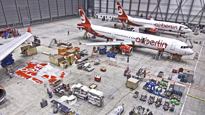 airberlin Technik-Hangar