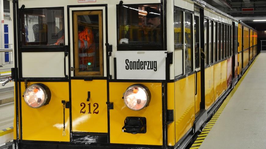 "U-Bahn-Oldtimer der Baureihe ""A 1"""