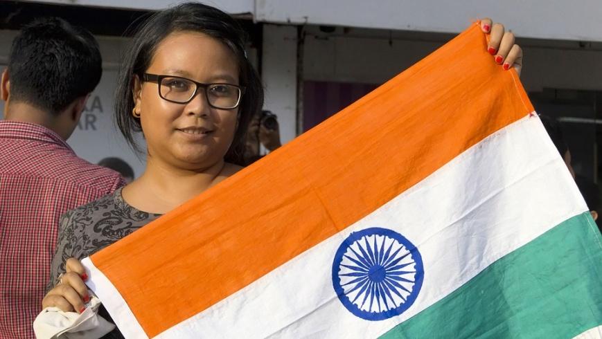 71. Unabhängigkeitstag in Indien
