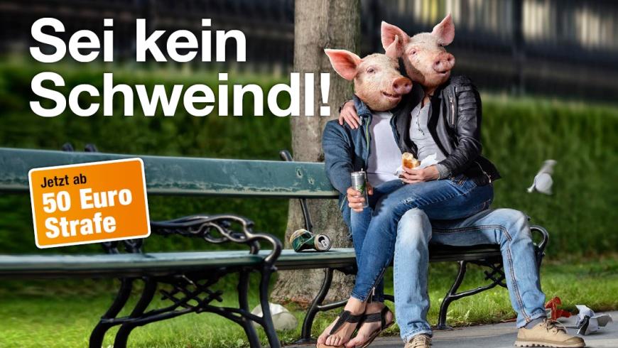 Stadt Wien: Sauberkeitskampagne 2017