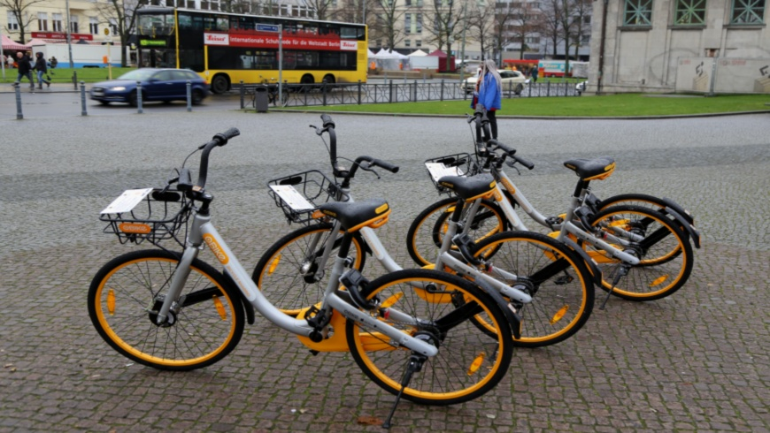 Bike-Sharing mit oBike