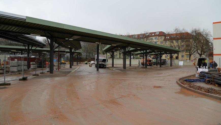 Erweiterung des Zentralen Omnibusbahnhofs (ZOB)