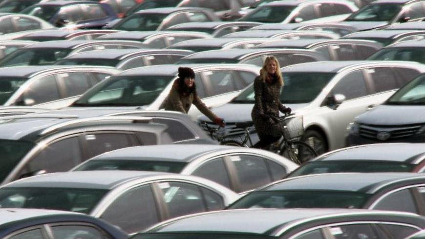 Filmszene aus: Fredrik Gertten- Bikes vs. Cars