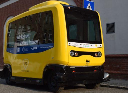 """BVG testet autonomen Kleinbus """"Easy Mile"""""""