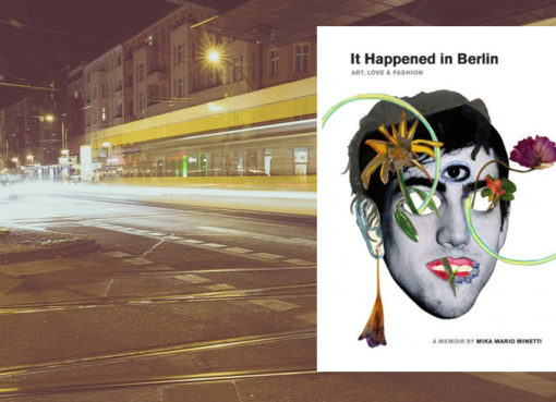 "Mika Minetti - Buchcover ""It happened in Berlin"""