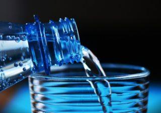 Mikroplastikpartikel aus PET-Flaschen