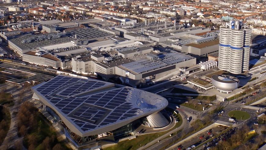BMW München - Luftbild