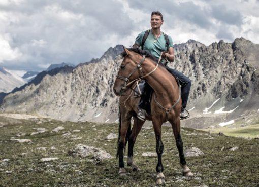 Markus Huth Ohne Plan durch Kirgisistan