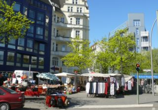 Wochenmarkt auf dem Richard-Wagner-Platz