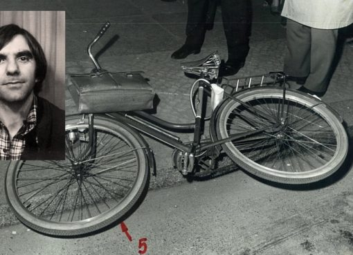 Fahrrad mit Aktentasche von Rudi Dutschke