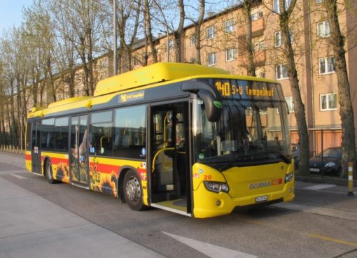 12-Meter-BUS Typ Scania Citywide LF CNG