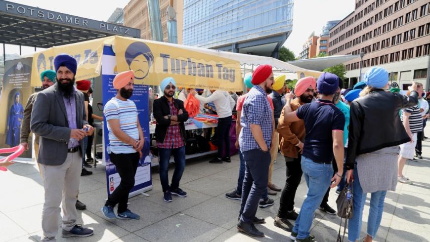 1. Turban-Tag der Sikh-Gemeinde