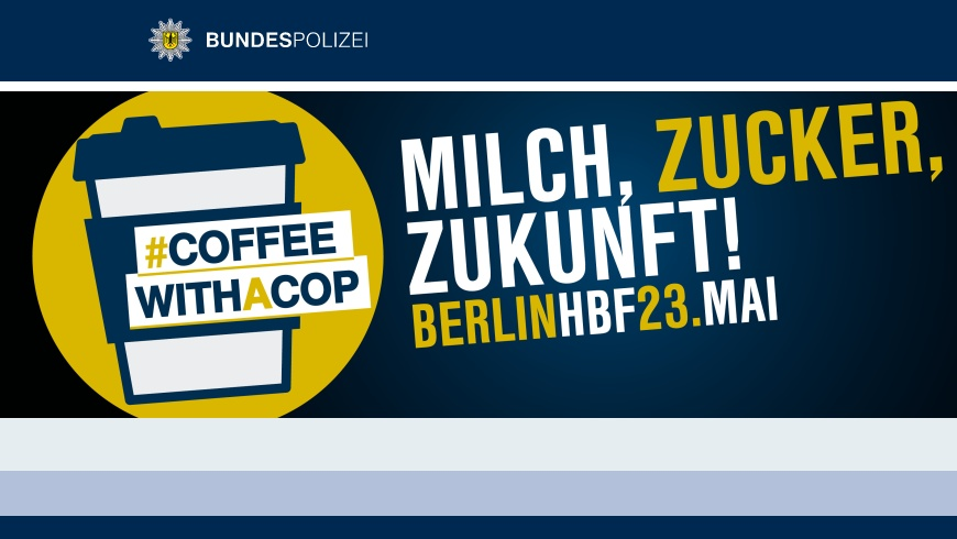 Aktion: COFFEE WITH A COP