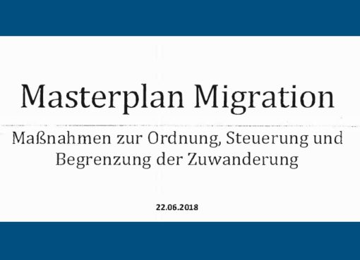 Masterplan Migration - 22.6.2018