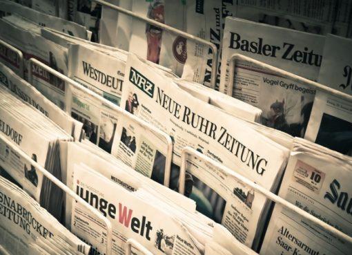 Zeitungen in der Krise