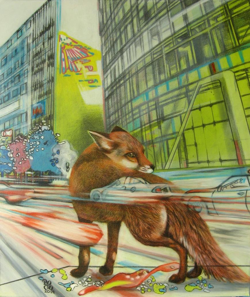 Der Fuchs in der Großstadt
