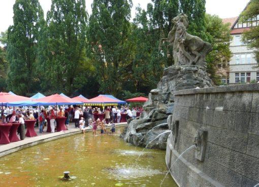 Sommerfest am Rüdesheimer Platz am 25.8.2018