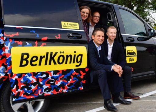 Berlkönig: Ridesharing der BVG