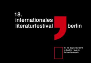 18. Internationales Literaturfestival Berlin