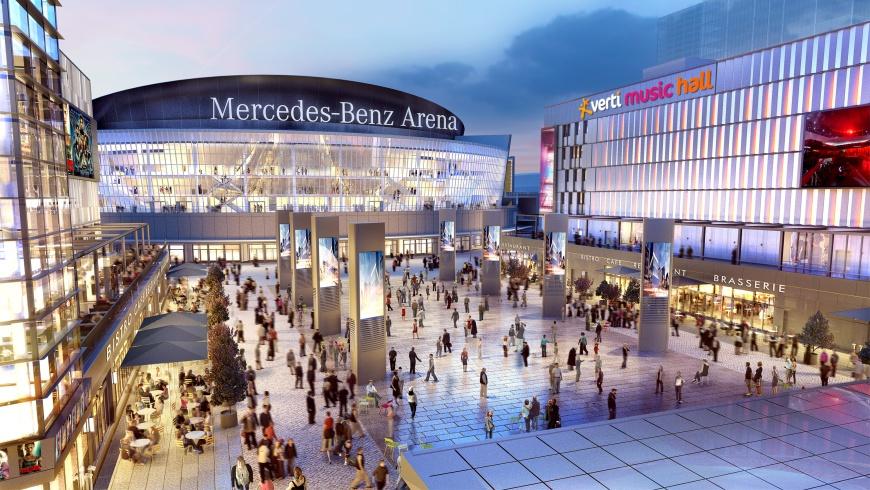 Der Mercedes Platz