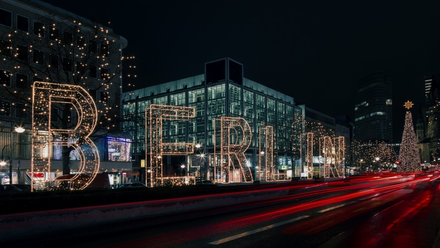 Tauentzien: Weihnachtsbeleuchtung