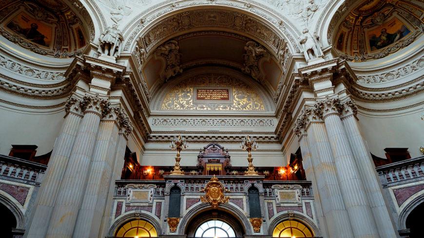 Kaiserloge im Berliner Dom