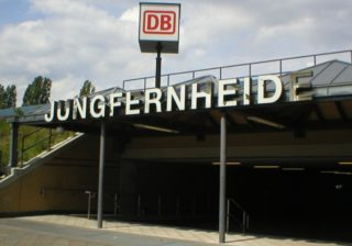 S- und Regionalbahnhof Jungfernheide