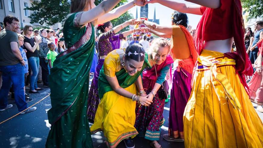 Karneval der Kulturen 2018, Jagannath Shoba Yatra Gruppe