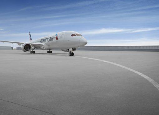 Boeing 787 von American Airlines