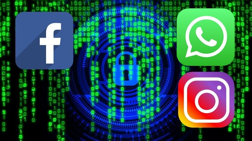 Facebook, Whatsapp und Instagram