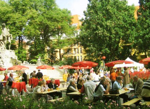 Sommerfest am Rüdesheimer Platz