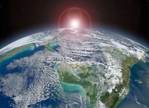 Der »blau-grüne Planet«
