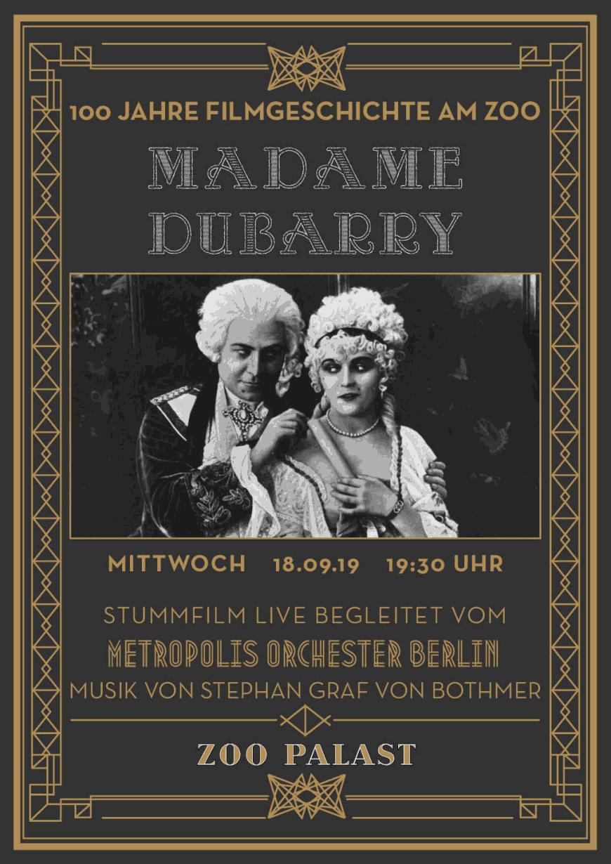 Madame Dubarry - 100 Jahre Filmgeschichte