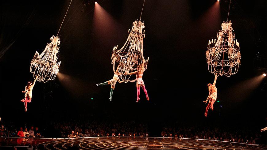 Seil-Akrobatik in der Show CORTEO - Foto: Circque du Soleil