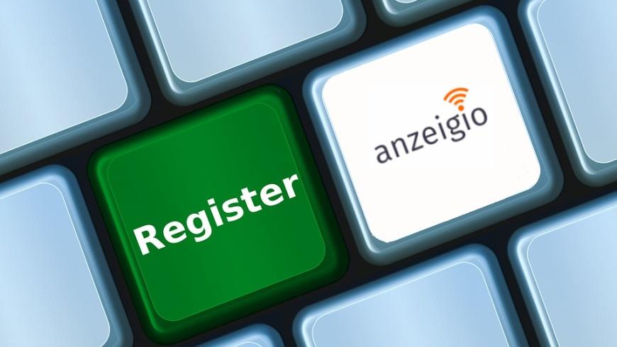 anzeigio - Berliner IoT-Register
