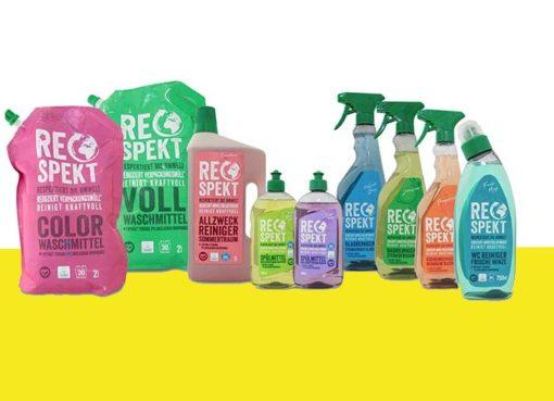 RESPEKT eine neue Eigenmarke für Öko-Wasch- und Putzmittel