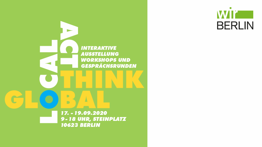 Think global - Act local!