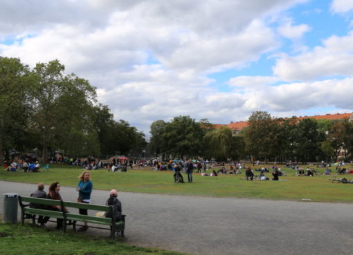 Preußenpark im Oktober