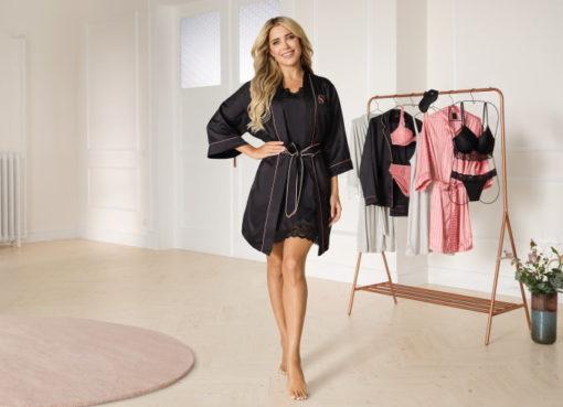Silvie Meis mit ihrer neuen Nachtwäsche-Collection